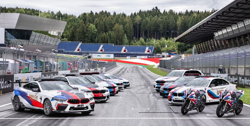BMW M8 Competition is the new MotoGP safety car Image #1001013