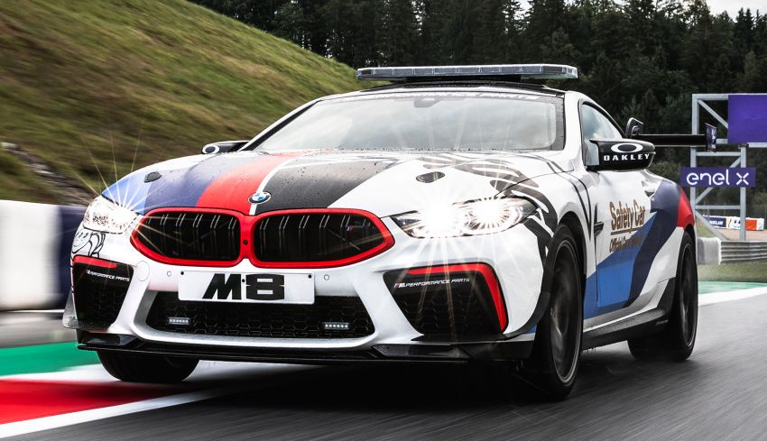 BMW M8 Competition is the new MotoGP safety car Image #1001017