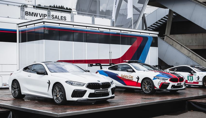 BMW M8 Competition is the new MotoGP safety car Image #1001019