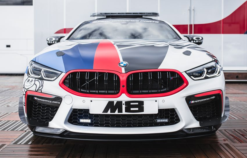 BMW M8 Competition is the new MotoGP safety car Image #1001003