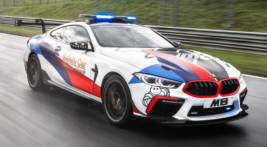 BMW M8 Competition is the new MotoGP safety car Image #1001005