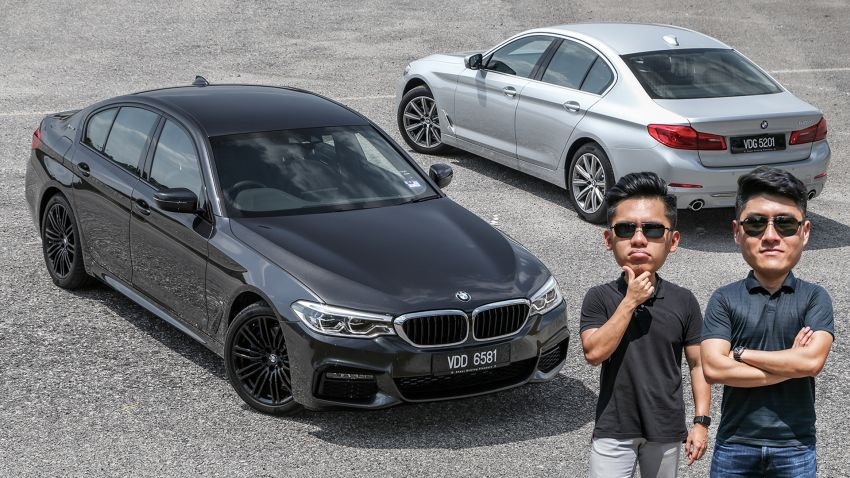 FIRST DRIVE: G30 BMW 520i Luxury and 530e M Sport Image #1003736