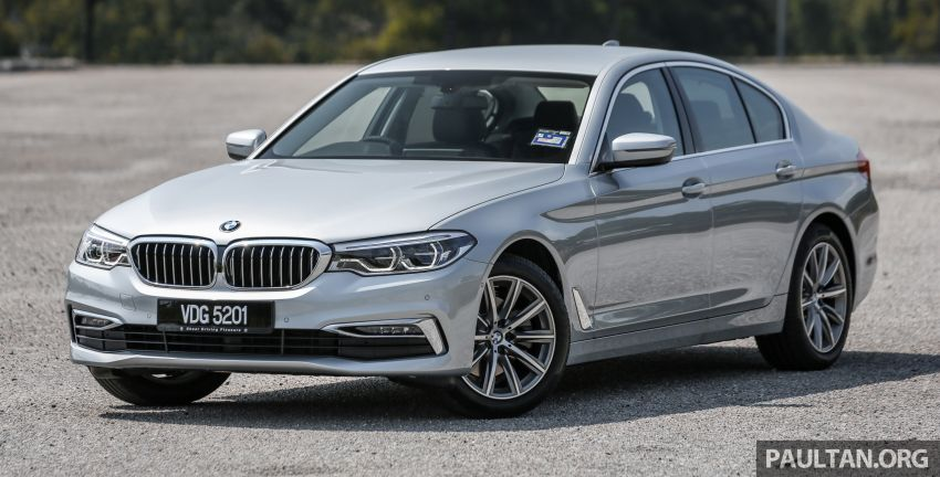 FIRST DRIVE: G30 BMW 520i Luxury and 530e M Sport Image #1003653