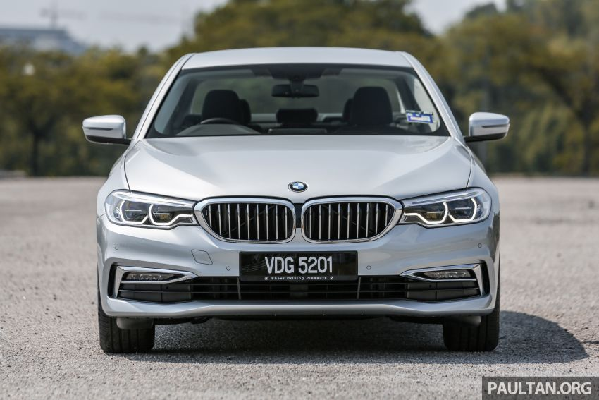 FIRST DRIVE: G30 BMW 520i Luxury and 530e M Sport Image #1003662