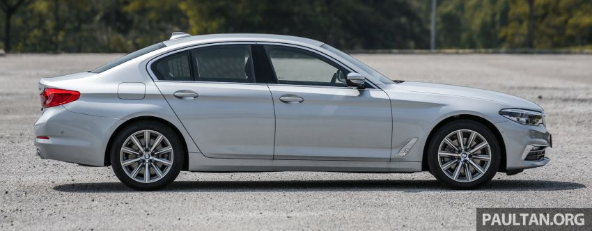 FIRST DRIVE: G30 BMW 520i Luxury and 530e M Sport Image #1003668