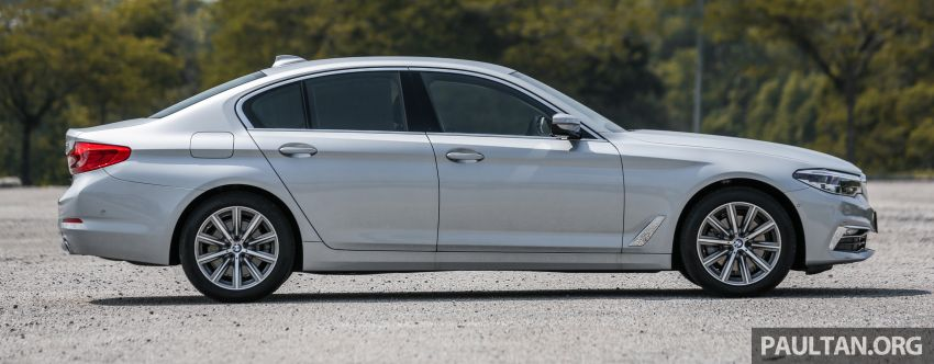 FIRST DRIVE: G30 BMW 520i Luxury and 530e M Sport Image #1003669