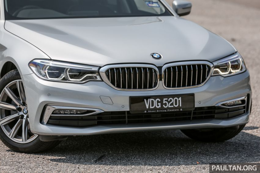 FIRST DRIVE: G30 BMW 520i Luxury and 530e M Sport Image #1003670