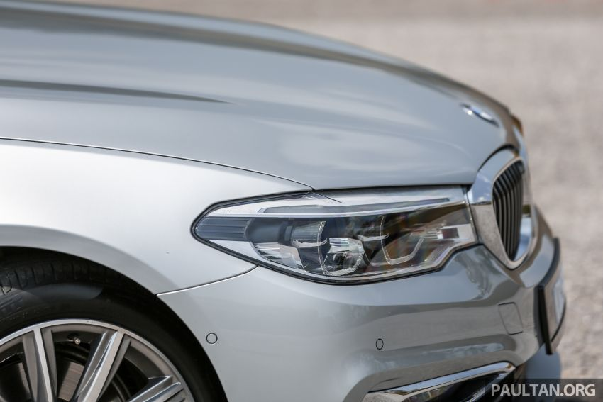 FIRST DRIVE: G30 BMW 520i Luxury and 530e M Sport Image #1003673