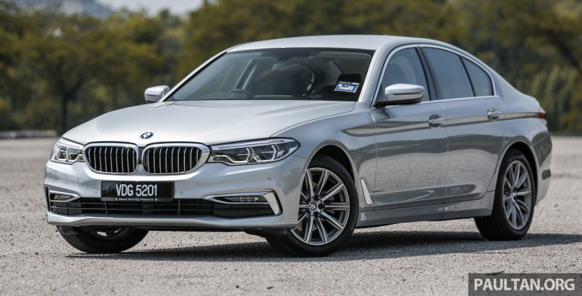 FIRST DRIVE: G30 BMW 520i Luxury and 530e M Sport Image #1003654