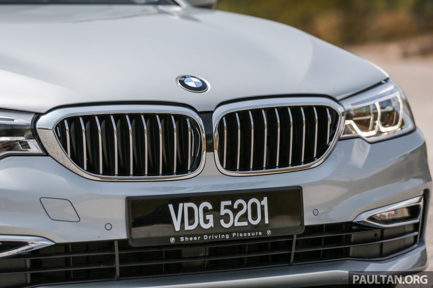 FIRST DRIVE: G30 BMW 520i Luxury and 530e M Sport Image #1003676