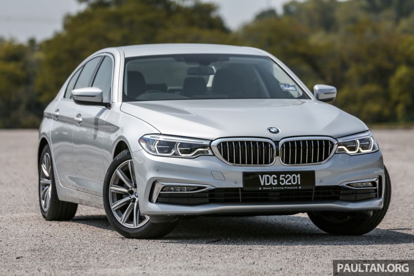 FIRST DRIVE: G30 BMW 520i Luxury and 530e M Sport Image #1003656