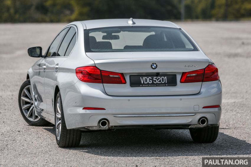 FIRST DRIVE: G30 BMW 520i Luxury and 530e M Sport Image #1003659