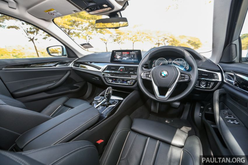 FIRST DRIVE: G30 BMW 520i Luxury and 530e M Sport Image #1003714