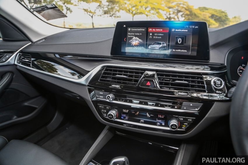 FIRST DRIVE: G30 BMW 520i Luxury and 530e M Sport Image #1003698