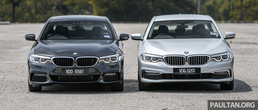 FIRST DRIVE: G30 BMW 520i Luxury and 530e M Sport Image #1003538
