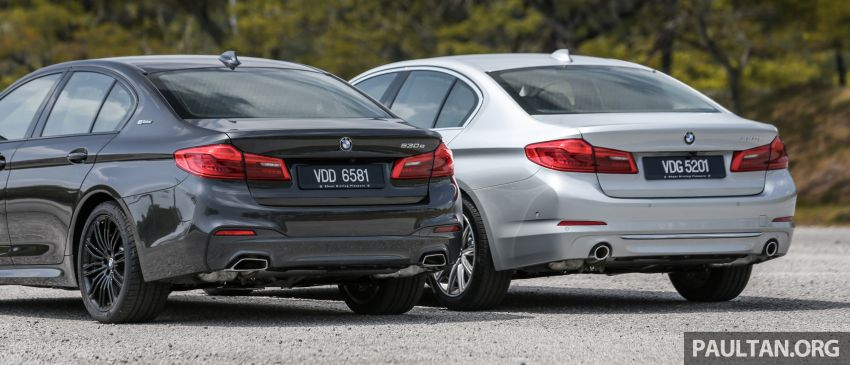 FIRST DRIVE: G30 BMW 520i Luxury and 530e M Sport Image #1003548