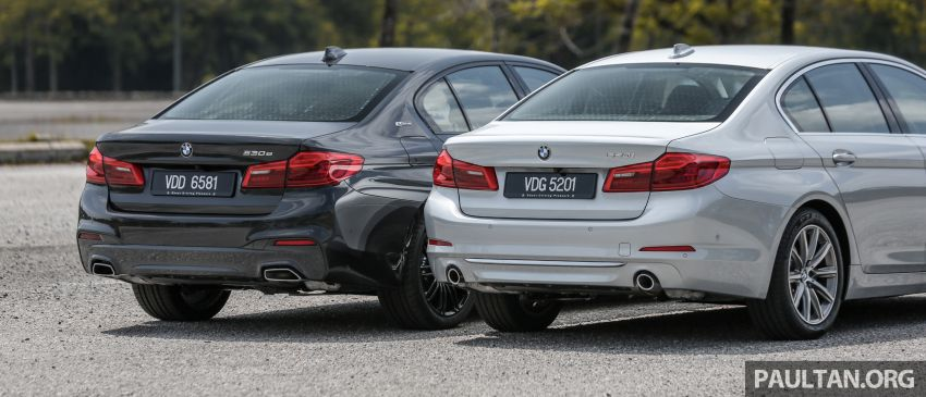FIRST DRIVE: G30 BMW 520i Luxury and 530e M Sport Image #1003549