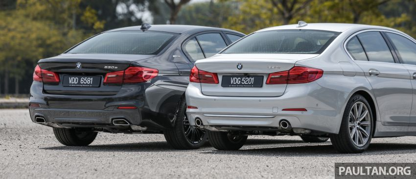 FIRST DRIVE: G30 BMW 520i Luxury and 530e M Sport Image #1003550