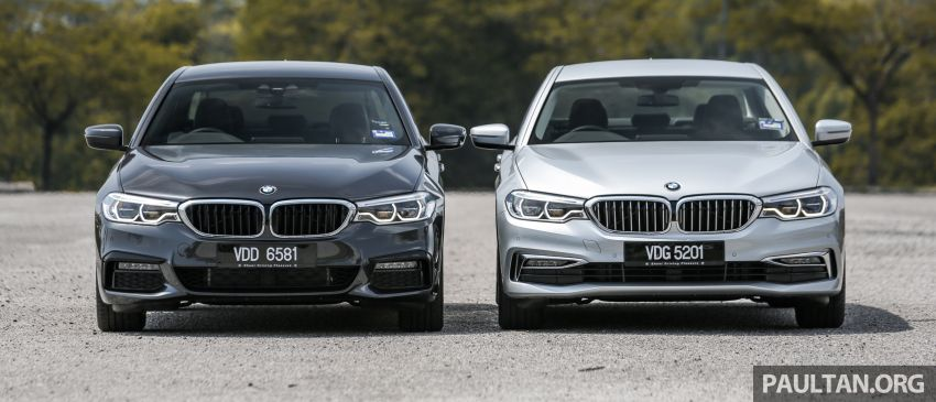 FIRST DRIVE: G30 BMW 520i Luxury and 530e M Sport Image #1003539
