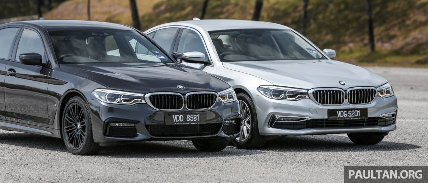 FIRST DRIVE: G30 BMW 520i Luxury and 530e M Sport Image #1003540