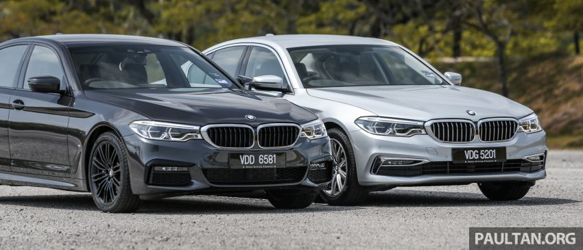 FIRST DRIVE: G30 BMW 520i Luxury and 530e M Sport Image #1003541