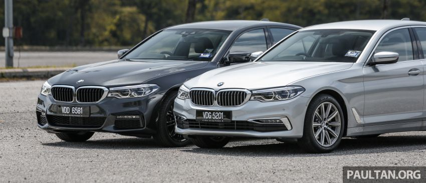 FIRST DRIVE: G30 BMW 520i Luxury and 530e M Sport Image #1003542