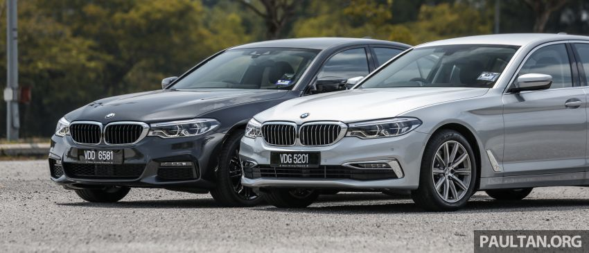 FIRST DRIVE: G30 BMW 520i Luxury and 530e M Sport Image #1003544