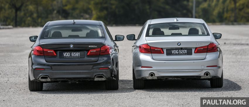 FIRST DRIVE: G30 BMW 520i Luxury and 530e M Sport Image #1003545