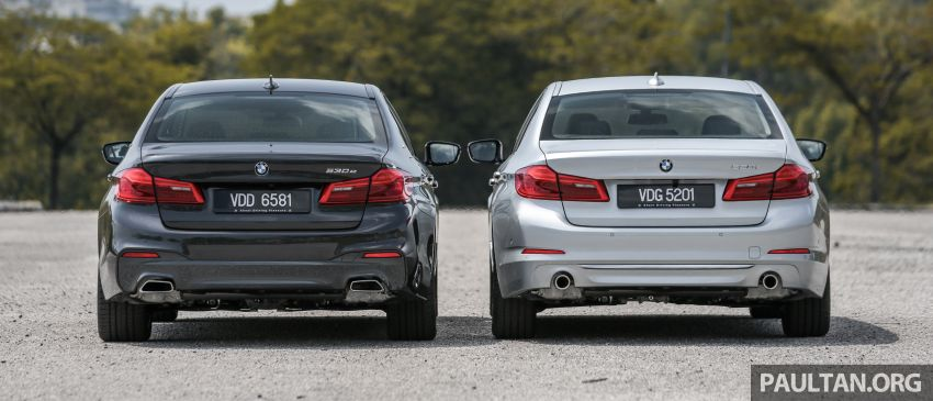 FIRST DRIVE: G30 BMW 520i Luxury and 530e M Sport Image #1003546