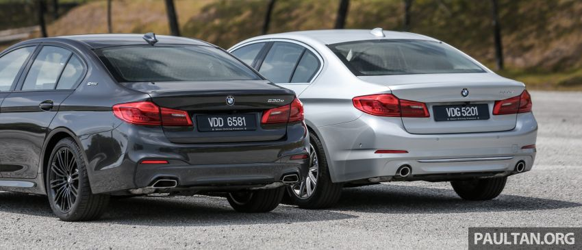 FIRST DRIVE: G30 BMW 520i Luxury and 530e M Sport Image #1003547