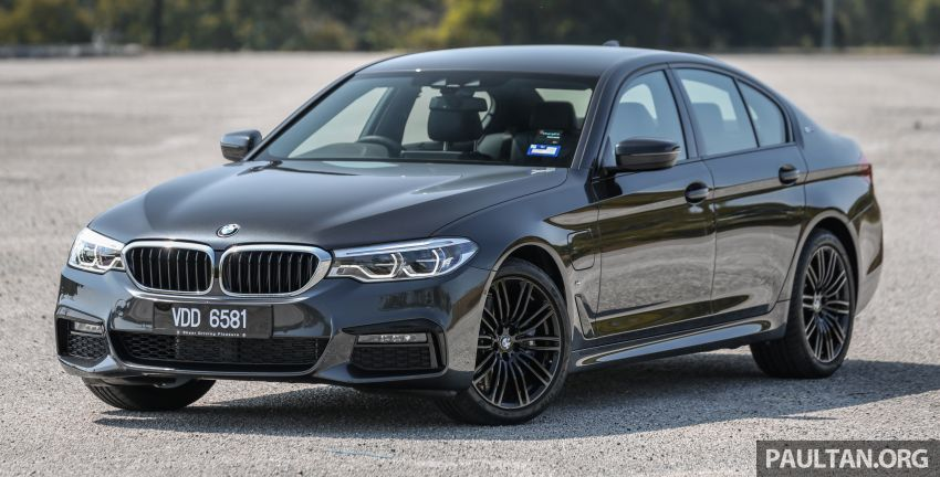 FIRST DRIVE: G30 BMW 520i Luxury and 530e M Sport Image #1003551