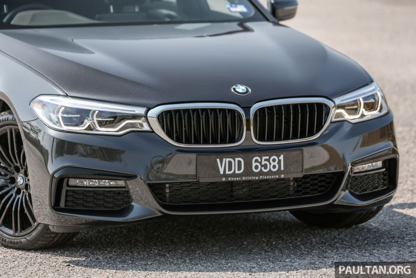 FIRST DRIVE: G30 BMW 520i Luxury and 530e M Sport Image #1003566
