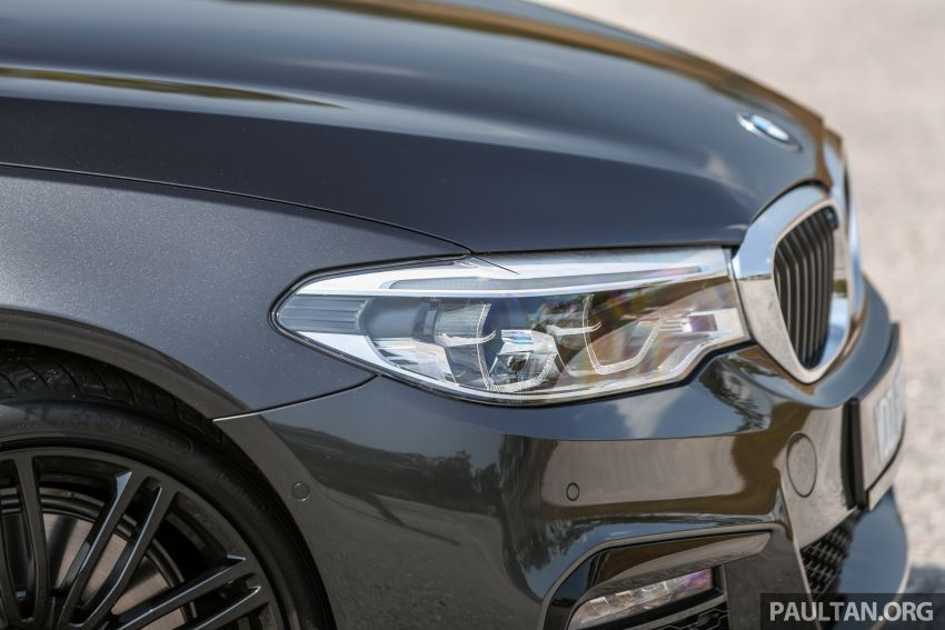 FIRST DRIVE: G30 BMW 520i Luxury and 530e M Sport Image #1003568