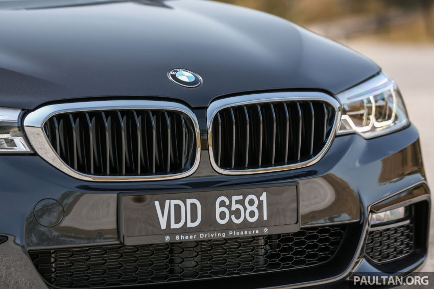 FIRST DRIVE: G30 BMW 520i Luxury and 530e M Sport Image #1003572