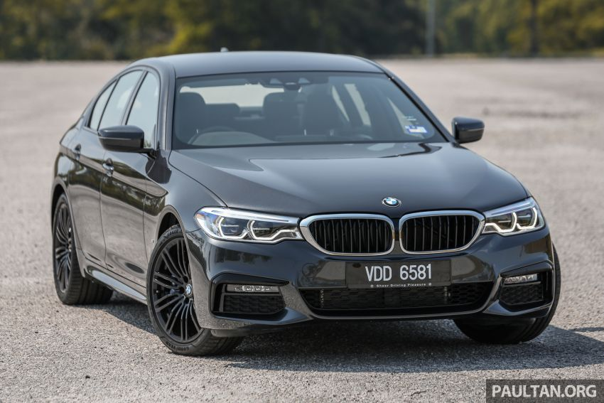 FIRST DRIVE: G30 BMW 520i Luxury and 530e M Sport Image #1003553