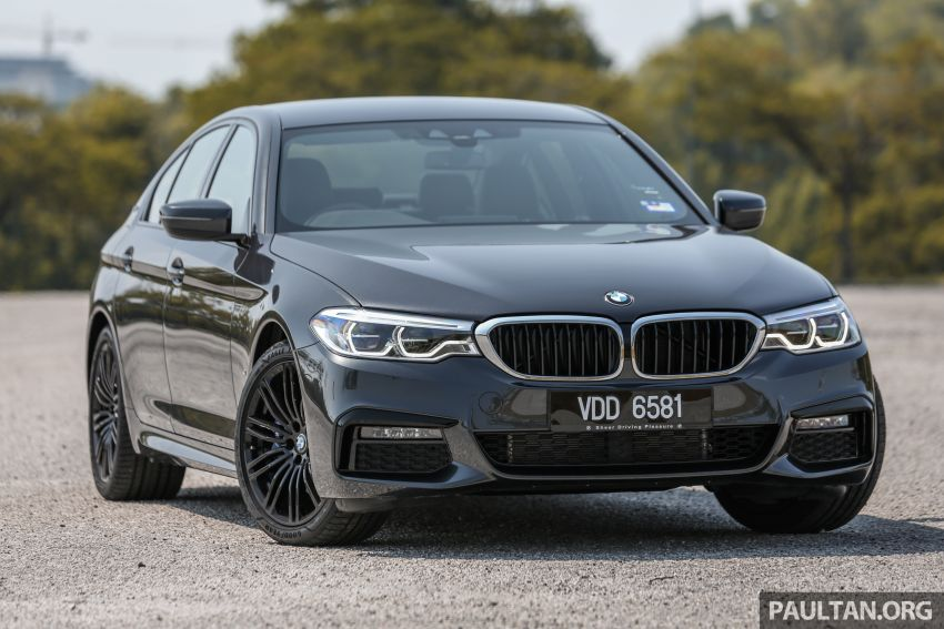 FIRST DRIVE: G30 BMW 520i Luxury and 530e M Sport Image #1003554