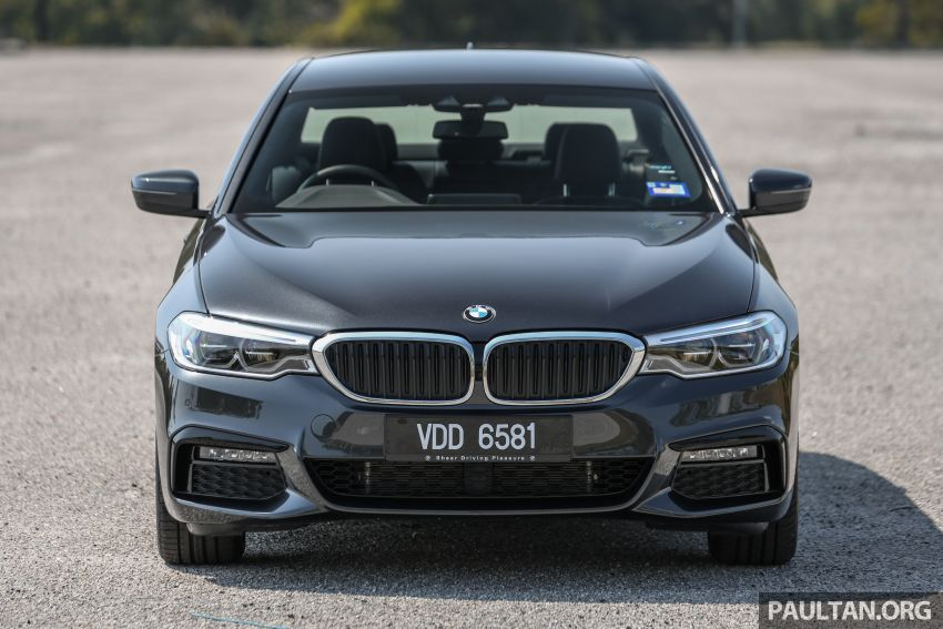 FIRST DRIVE: G30 BMW 520i Luxury and 530e M Sport Image #1003559