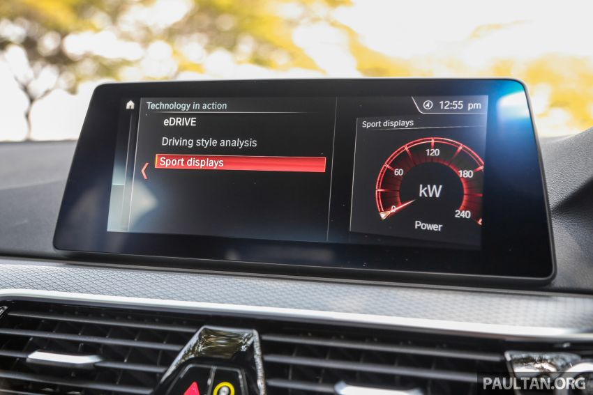 FIRST DRIVE: G30 BMW 520i Luxury and 530e M Sport Image #1003614