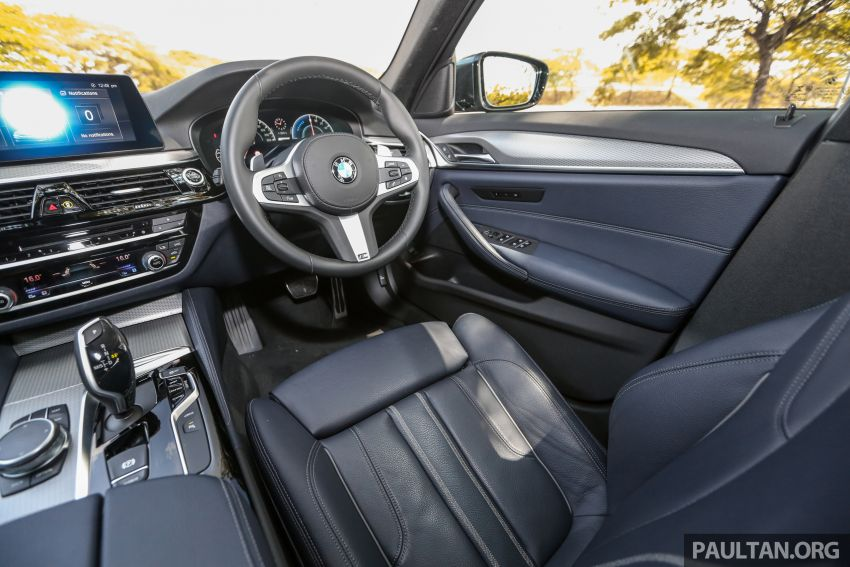 FIRST DRIVE: G30 BMW 520i Luxury and 530e M Sport Image #1003632