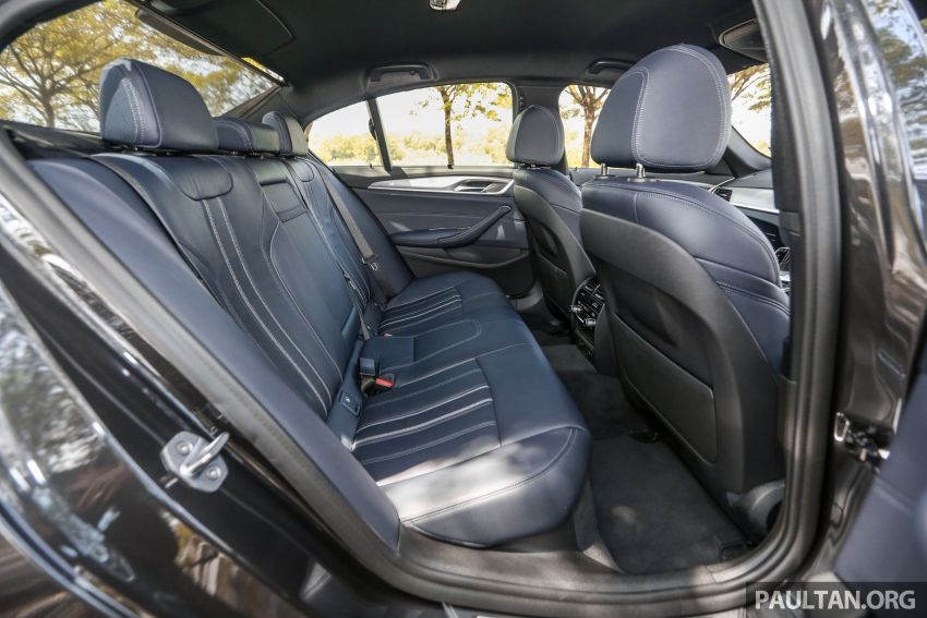 FIRST DRIVE: G30 BMW 520i Luxury and 530e M Sport Image #1003645
