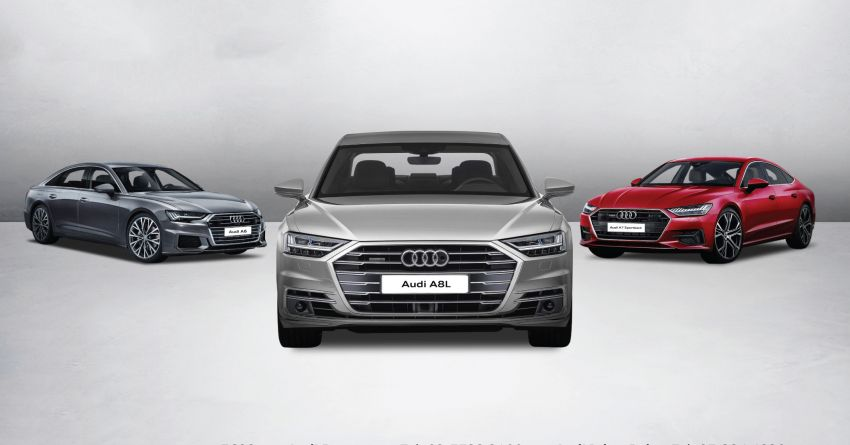 AD: Check out the new Audi A6, A7, A8 L and Q8 and receive exclusive merchandise at BSC this week! Image #1007512