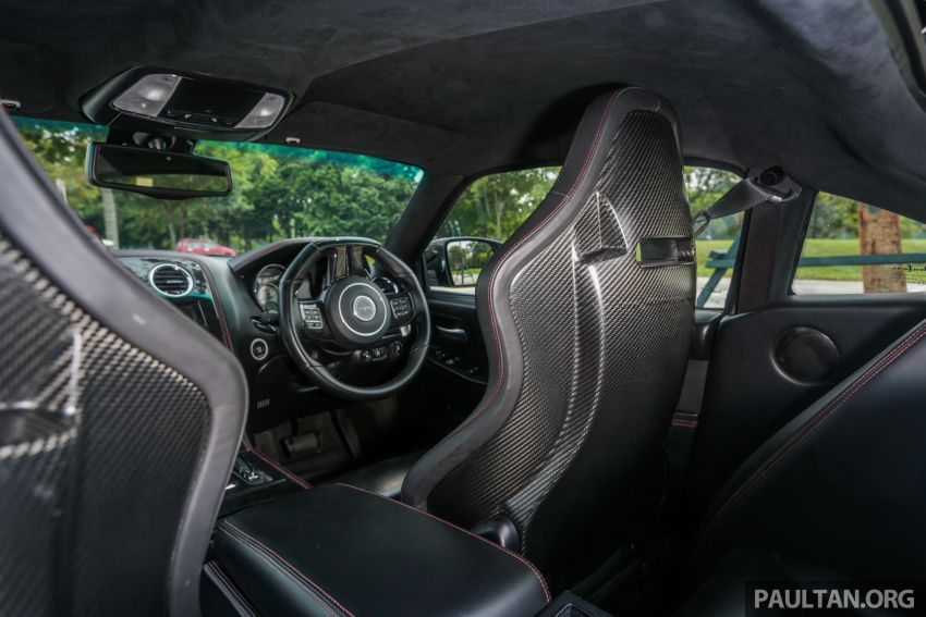 Bufori CS prototype detailed, production car set for 2020 debut – 6.4L V8, 750 hp, carbon-kevlar body Image #1006065