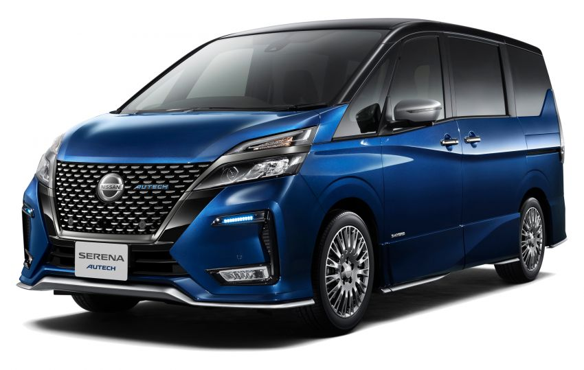 C27 Nissan Serena facelift introduced – big new grille, improved ProPilot semi-autonomous driving tech Image #997381