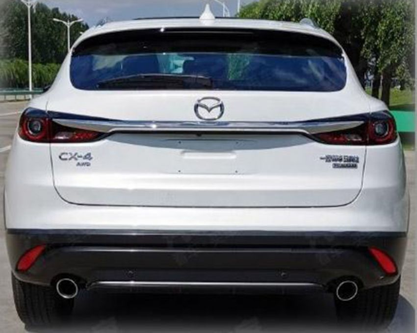 Mazda CX-4 facelift spotted, looks a lot like the CX-30! Image #1003235