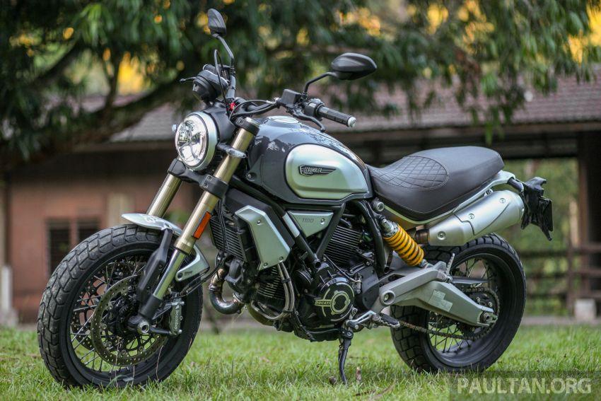 GALERI: Ducati Scrambler 1100 Sport dan Special Image #999918