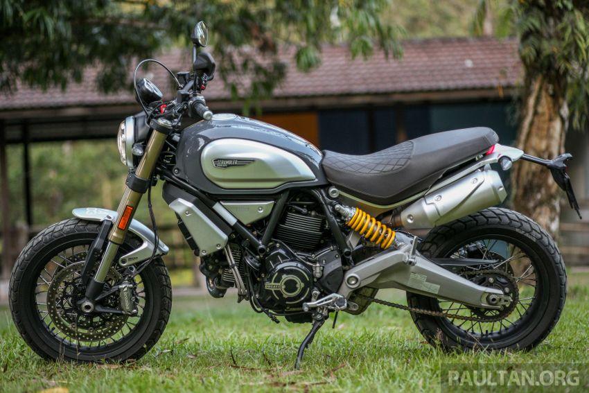 GALERI: Ducati Scrambler 1100 Sport dan Special Image #999920