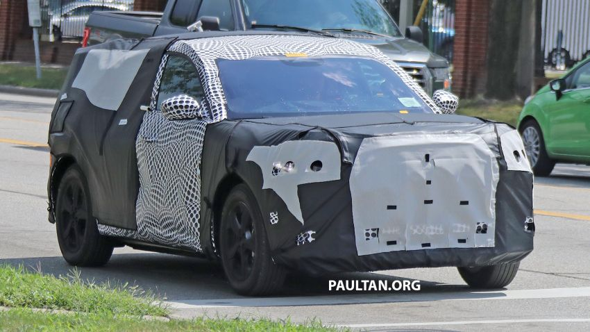 SPIED: Ford Mach E – Mustang-inspired electric SUV Image #1005067