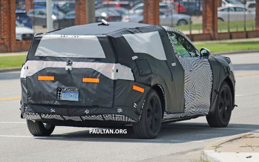 SPIED: Ford Mach E – Mustang-inspired electric SUV Image #1005077