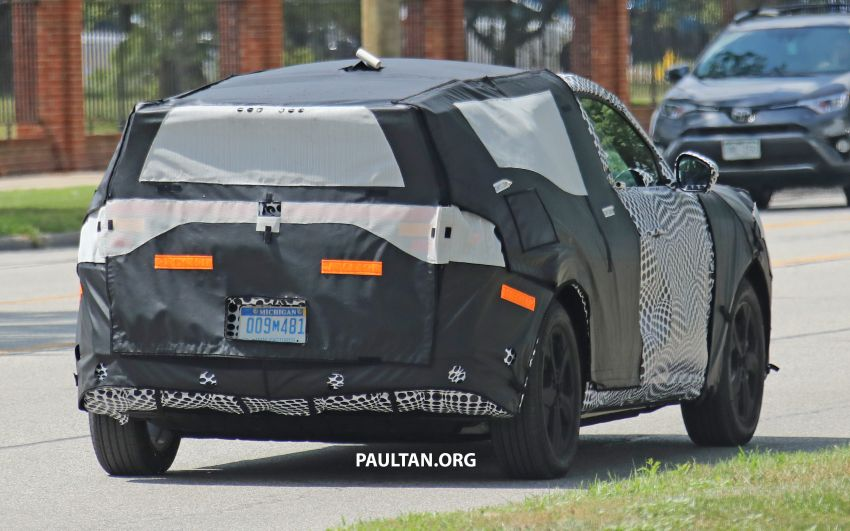 SPIED: Ford Mach E – Mustang-inspired electric SUV Image #1005078