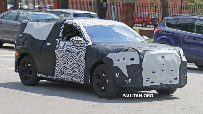 SPIED: Ford Mach E – Mustang-inspired electric SUV Image #1005068